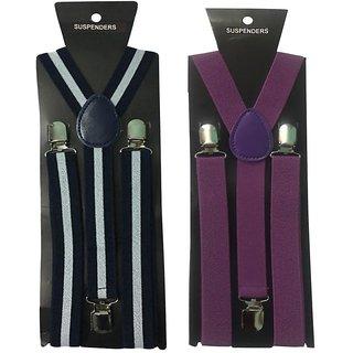 Atyourdoor Y- Back Suspenders for Men(WL Royal Blue Color)