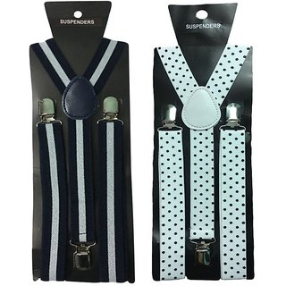 Atyourdoor Y- Back Suspenders for Men(WL Wdot Design)