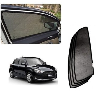 Trigcars Maruti Suzuki Swift 2018 Car Magnetic Sunshade