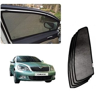 Trigcars Skoda Laura Car Magnetic Sunshade