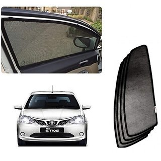Trigcars Toyota Etios New Car Magnetic Sunshade
