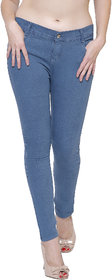 Lufaa Greenish Woman Skinny Jeans
