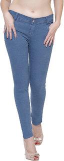 Lufaa Greenish Woman Skinny Jeans