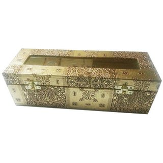 Pride Rolly to store bangle  cosmetics Vanity Box (Golden)