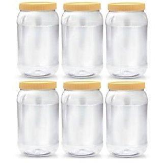 Sunpet Unbreakable Plastic Container Set NoSPL2000-06of 06Pcs