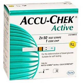 Accu-Chek Active 100 Strips