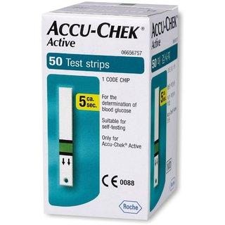 Accu-Chek Active 50 Test Strips,