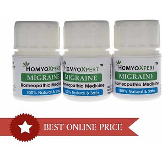HomyoXpert Migraine Homeopathic Medicine For One Month