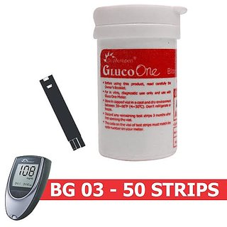 Dr. Morepen BG 03 -50 Strips (Strips Only Pack)