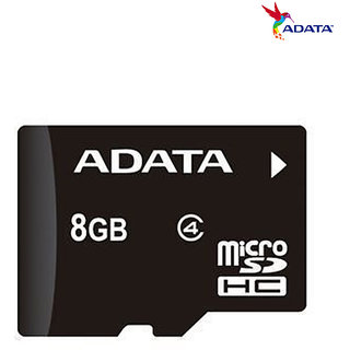 ADATA MEMORY CARD 8GB With 1 year warranty (without Packaging)