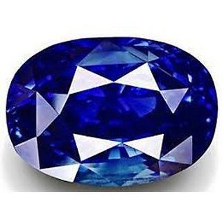 8.25 ratti 100 natural Blue Sapphire(neelam) Jaipur Gemstone by lab certified