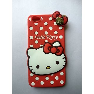 brand new 876f4 bb573 VIVO Y55 / VIVO Y55L Back Cover - Yes2Good Printed Hello Kitty Soft Rubber  Silicone Pink Back Cover Case For VIVO Y55 / VIVO Y55L Back Cover-RED