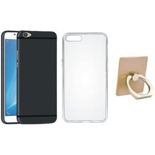Lenovo K8 Note Silicon Anti Slip Back Cover with Ring Stand Holder, Silicon Back Cover, Free Silicon Back Cover
