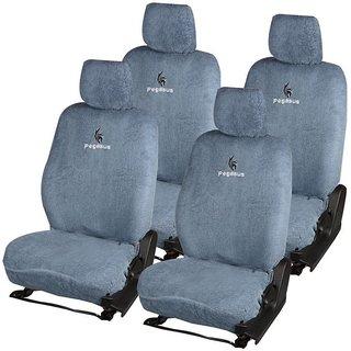 Pegasus Premium Grey Cotton Car Seat Cover For Fiat Grand Punto