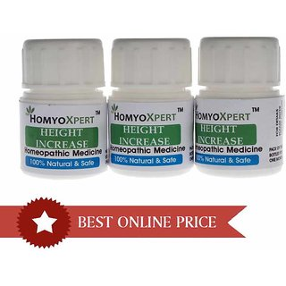 HomyoXpert Height Increase Homeopathic Medicine For One Month