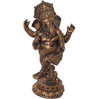 ART N HUB Antique Look Hindu God Shri Ganesh Statue lord Ganesha Idol  Bhagwan Ganpati Decorative Spiritual Puja vastu Showpiece - Religious Gift  item