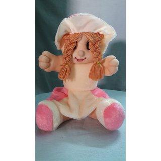Prestar Soft sitting Doll with cute Cap 30 cm