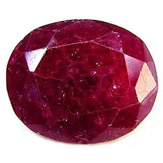 Gemstone  Ruby Manik Gemstone  6.90 Ratti Very Nice Natural Certified Oval Cut