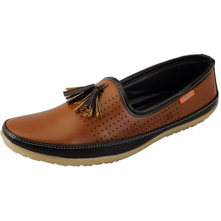 FAUSTO Tan Men's moccasins