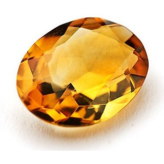 Yellow Topaz Stone Substitute Of Yellow Sapphire 5 Ratti