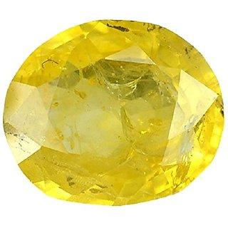Original Gomed Stone Yellow Sapphire Pukhraj Gemstone 10.9 Ratti Top Quality
