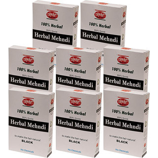 Black Herbal Mehndi (Pack of 8)