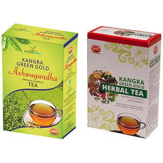 Khadi Ashwagandha Tea - Herbal Tea (Pack of 2)