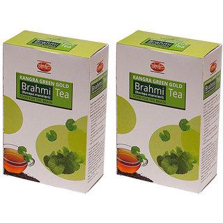 Khadi Brahmi Green Gold Tea (Pack of 2)