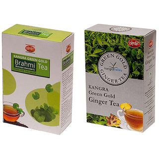 Khadi Brahmi Tea - Ginger Tea (Pack of 2)