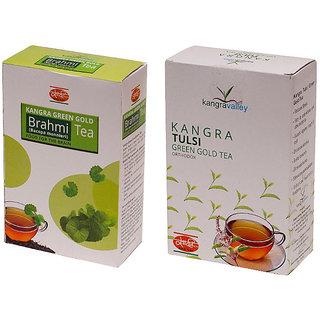 Khadi Brahmi Tea - Tulsi Tea (Pack of 2)