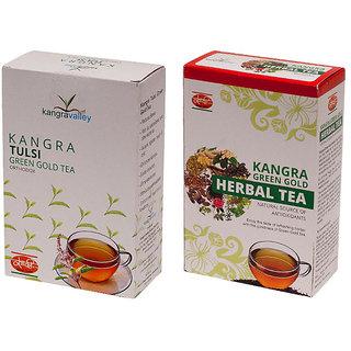 Khadi Tulsi Tea - Herbal Tea (Pack of 2)