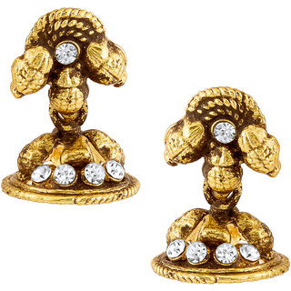 ShoStopper Trendy Gold Plated Earring SJ6096EN