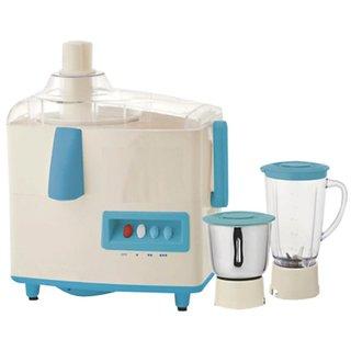 Quba Jm75 500 Watt 2 Jar Juicer Mixer Grinder