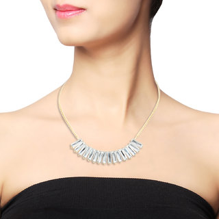 Statement Necklace- Gold (1 - Pc)