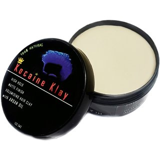 100 NATURAL HAIR CLAY WAX