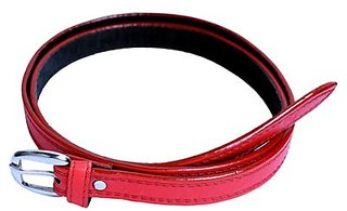 Tahiro Red Leather Belts - Pack Of 1