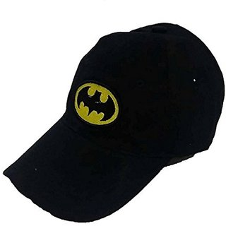 Tahiro Black Batmen Baseball Snapback Cap - Pack Of 1