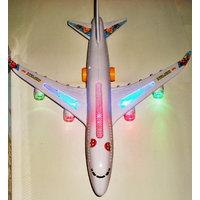 Airbus Flashing Lights Aeroplane Music Kids Toy Aircraft Baby Toys Plane