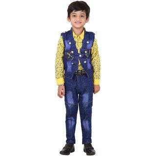 Crazeis Ethnic Set For Boy'S