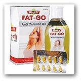 FAT-GO Slim Oil  ( 110 ML ) & Fat Go Slim Capsules ( 60 Capsules)