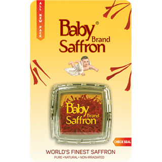 Baby Brand Saffron (Kesar), 2gm