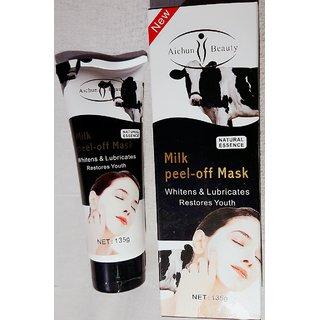 Milk peel off mask by Aichun beauty