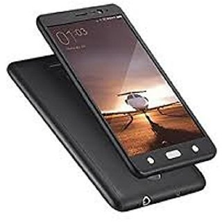 Uttoo ipaky 360 Protective Body Case With Tempered Glass - Black