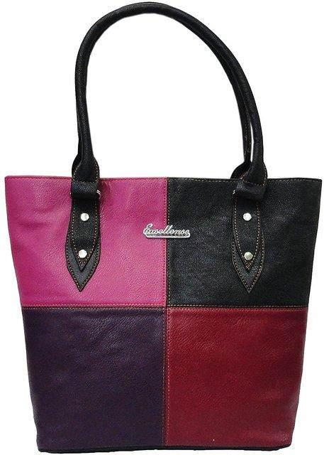 11e49794ad77 Atorakushon Multipurpose Carrying Case Women s Elegance Style Handbag  Clutches Ladies Purse Travelling Tote Bag (Black ...