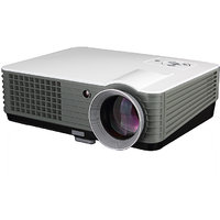 Projector Full HD Supported LED Home Theater Projector