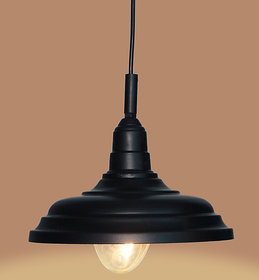 AH  Black  color  Iron   Pendant Light / Ceiling Lamp Ceiling Light / Hanging Lamp Hanging Light ( Pack of 1 )