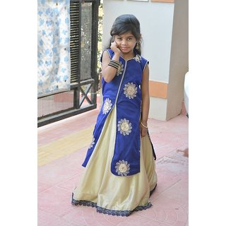 lecxy skirt with slit top(5-6 years)