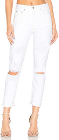 XEE Women White Slim Fit Ripped Jeans