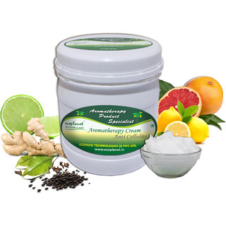 ecoplanet Aromatherapy Cream Anti Cellulite 1 Kg Fat Reducing Slimming and Skin Tightening Cream
