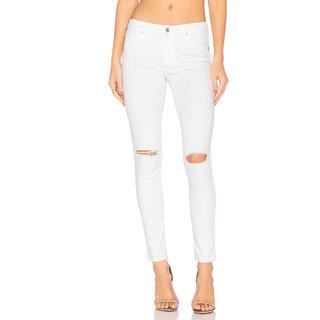 XEE Women White Slim Fit Ripped Jeans Jeans   Jeggings For Women